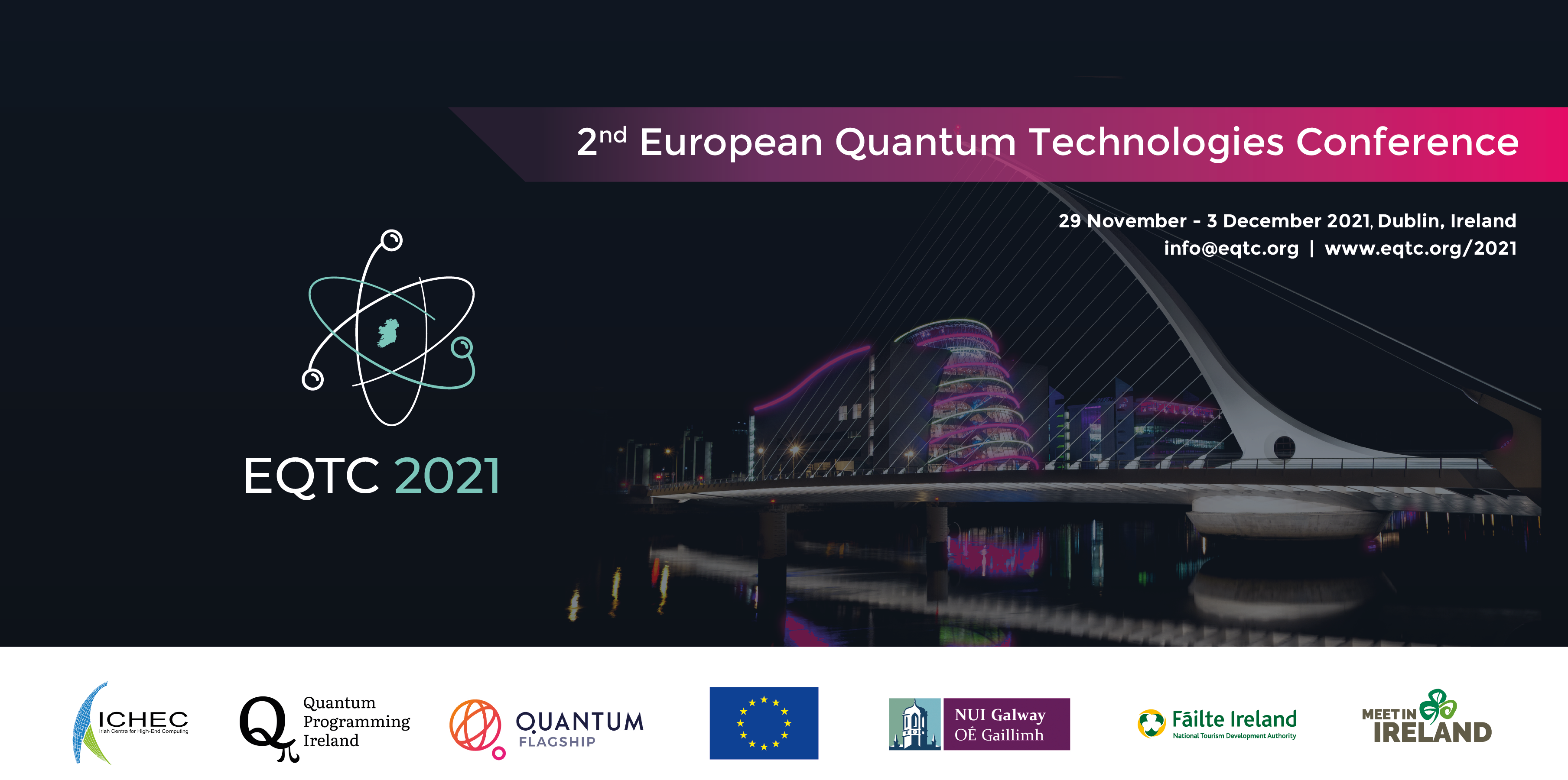 2nd European Quantum Technologies Conference Eqtc Quantum Technology