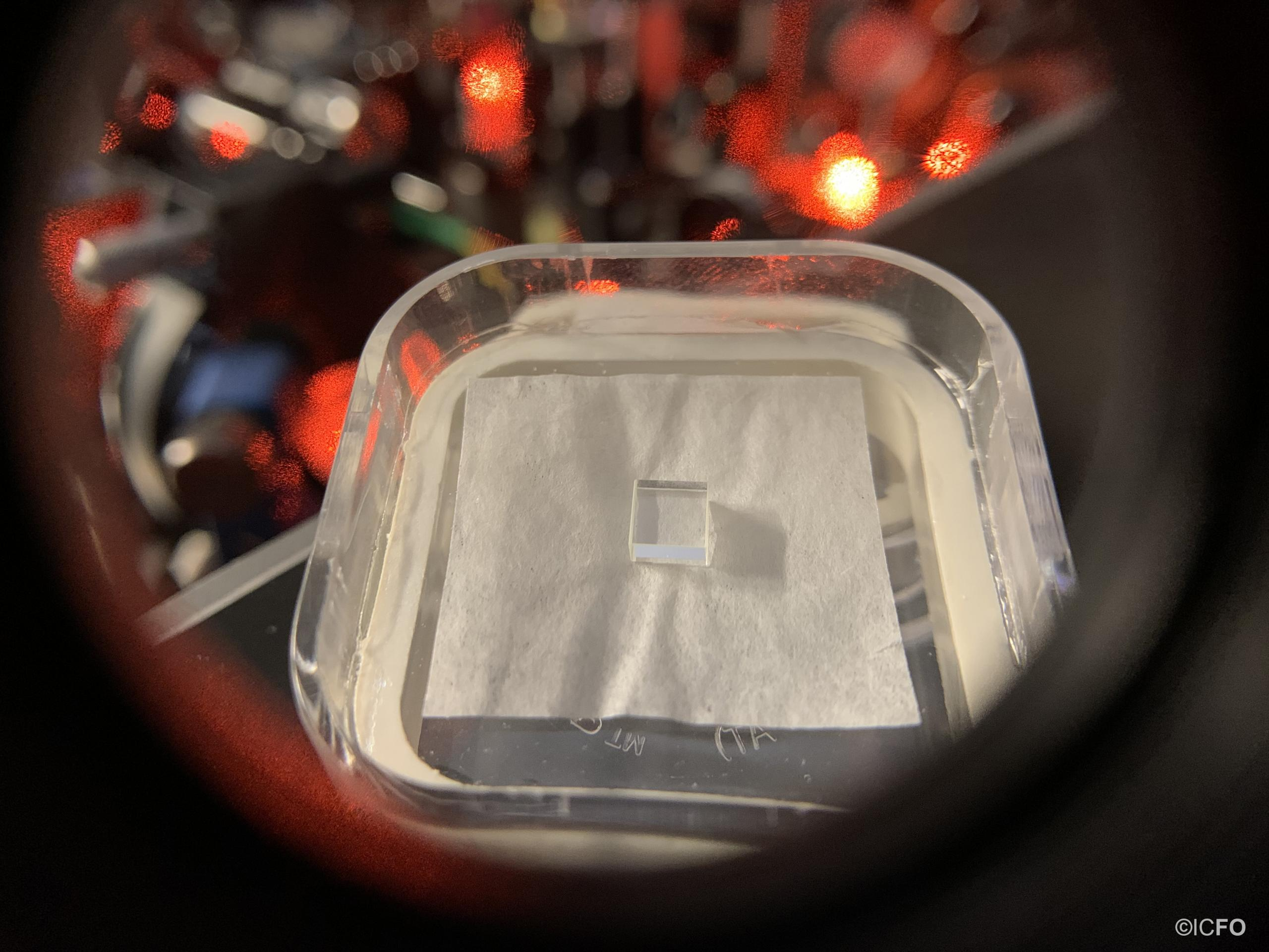 Quantum memory made of a rare-earth doped crystal