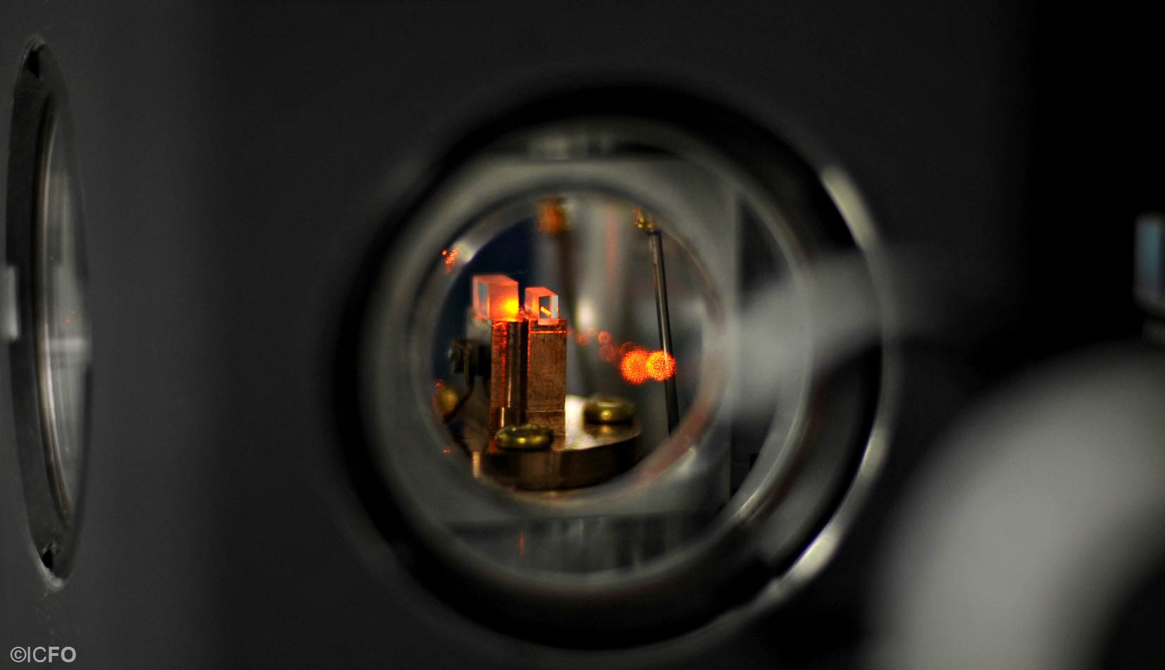 Quantum memory placed at the ICFO lab